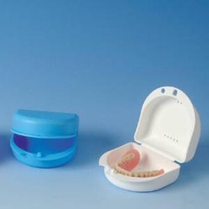 Dento Box für Prothesen und Zahnspangen