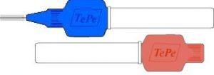 TePe Zwischenraumbürsten Schutzkappen /Griffe 7-Stück-Packung