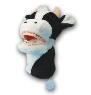 Putzi- Kuh Handpuppe