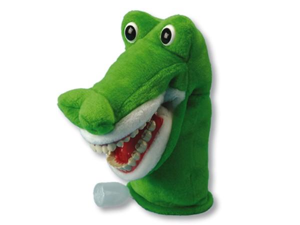 Putzi Krocki Krokodil Handpuppe